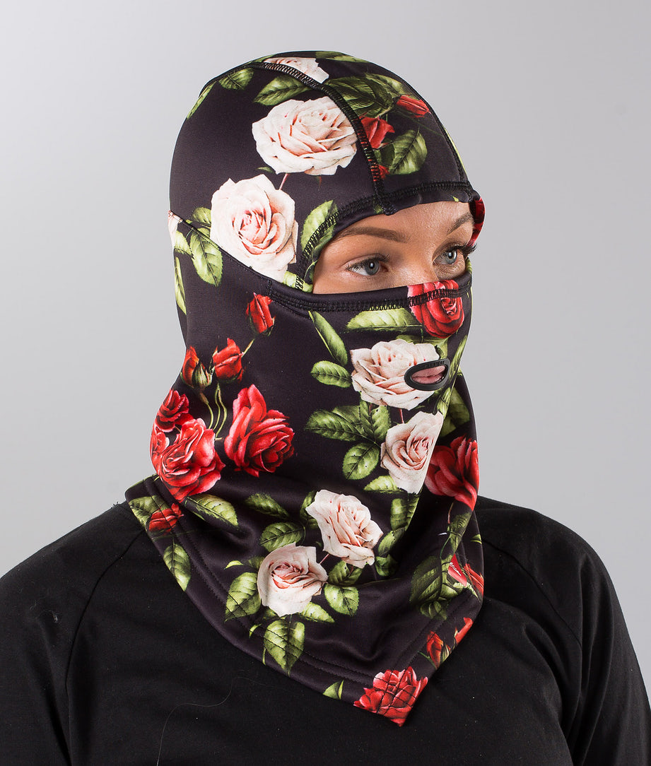 Airhole Balaclava Hinge Polar Facemask Night Rose