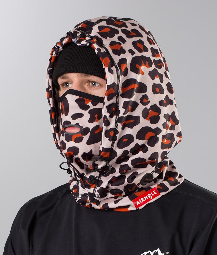 Airhole Airhood Lite Ansiktsmask Leopard