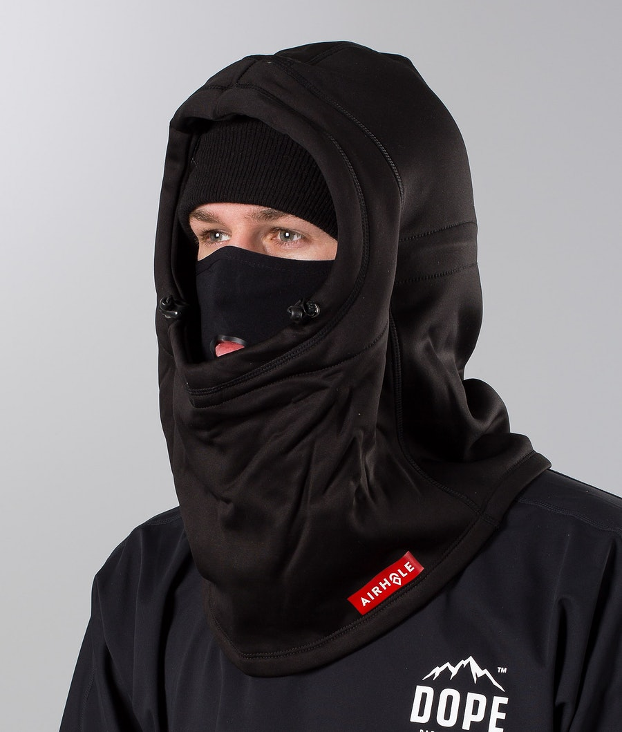 Airhole Airhood Polar Facemask Black