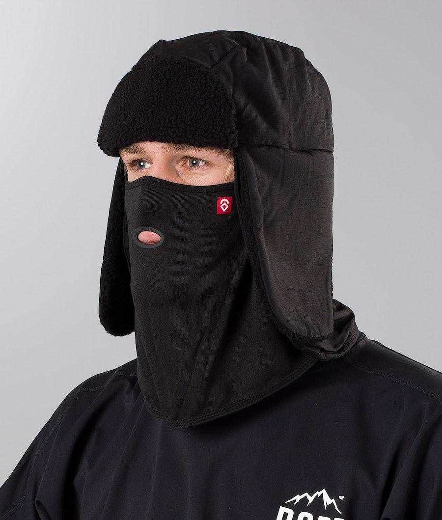 Airhole Trapper Tech Ansiktsmask Black