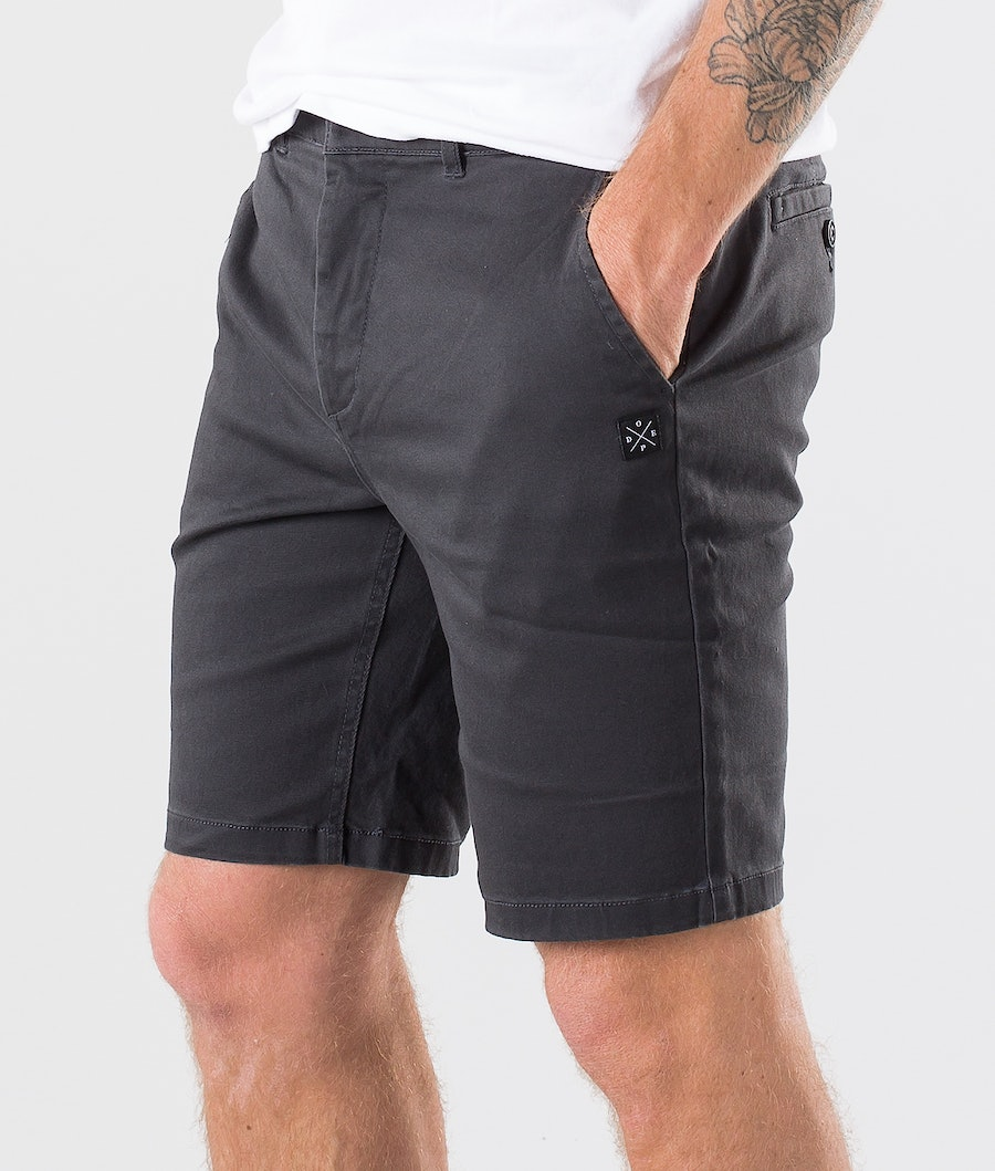 Dope Valdez Shorts Dark Grey