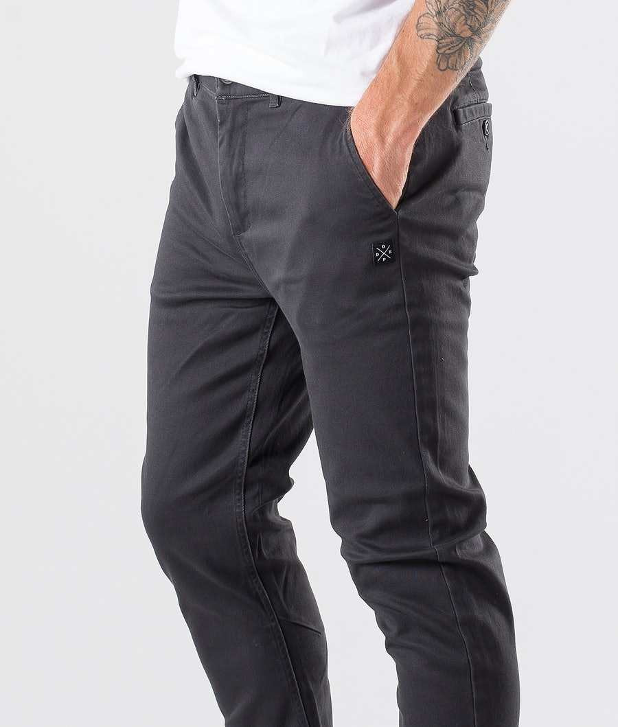 Dope Valdez Pants Dark Grey