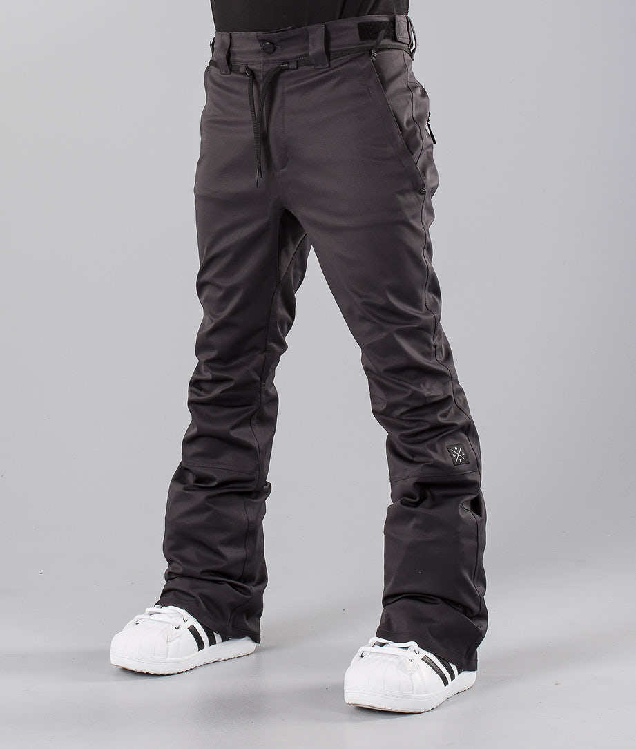 Dope Tiger Snow Pants Dark Grey