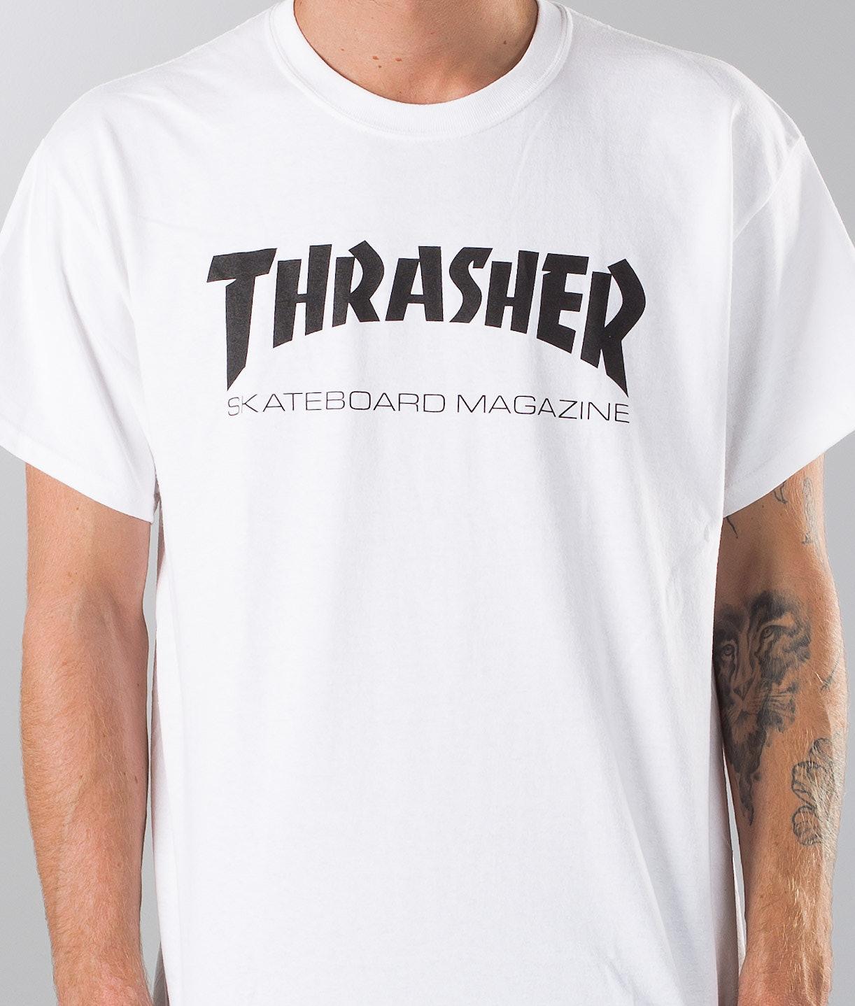 31258034 Thrasher Skate Mag T-shirt White - Ridestore.com