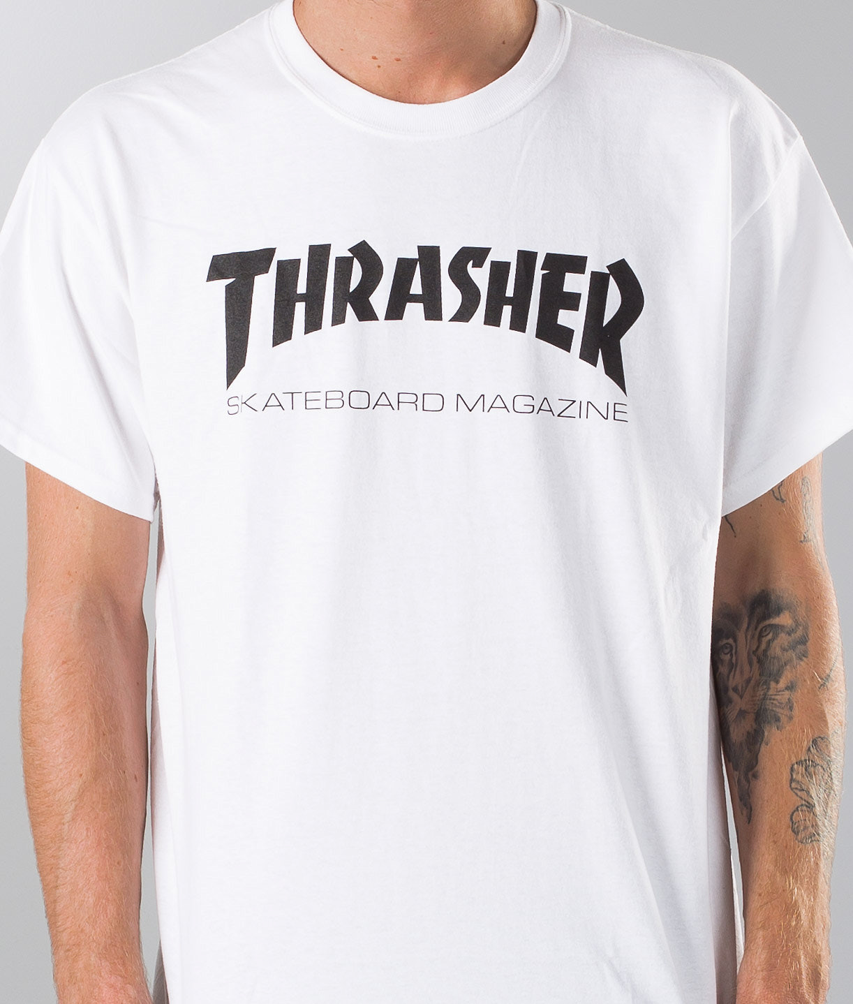 52388a5644 Thrasher Skate Mag T-shirt White - Ridestore.com