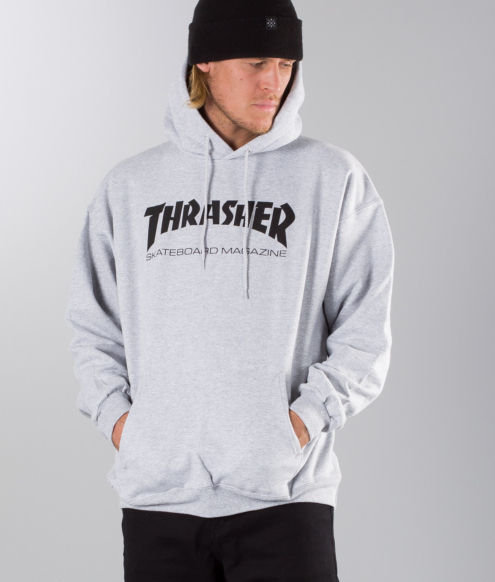 c25f3c1c0290 Thrasher Skate Mag Sweater Grey - Ridestore.com