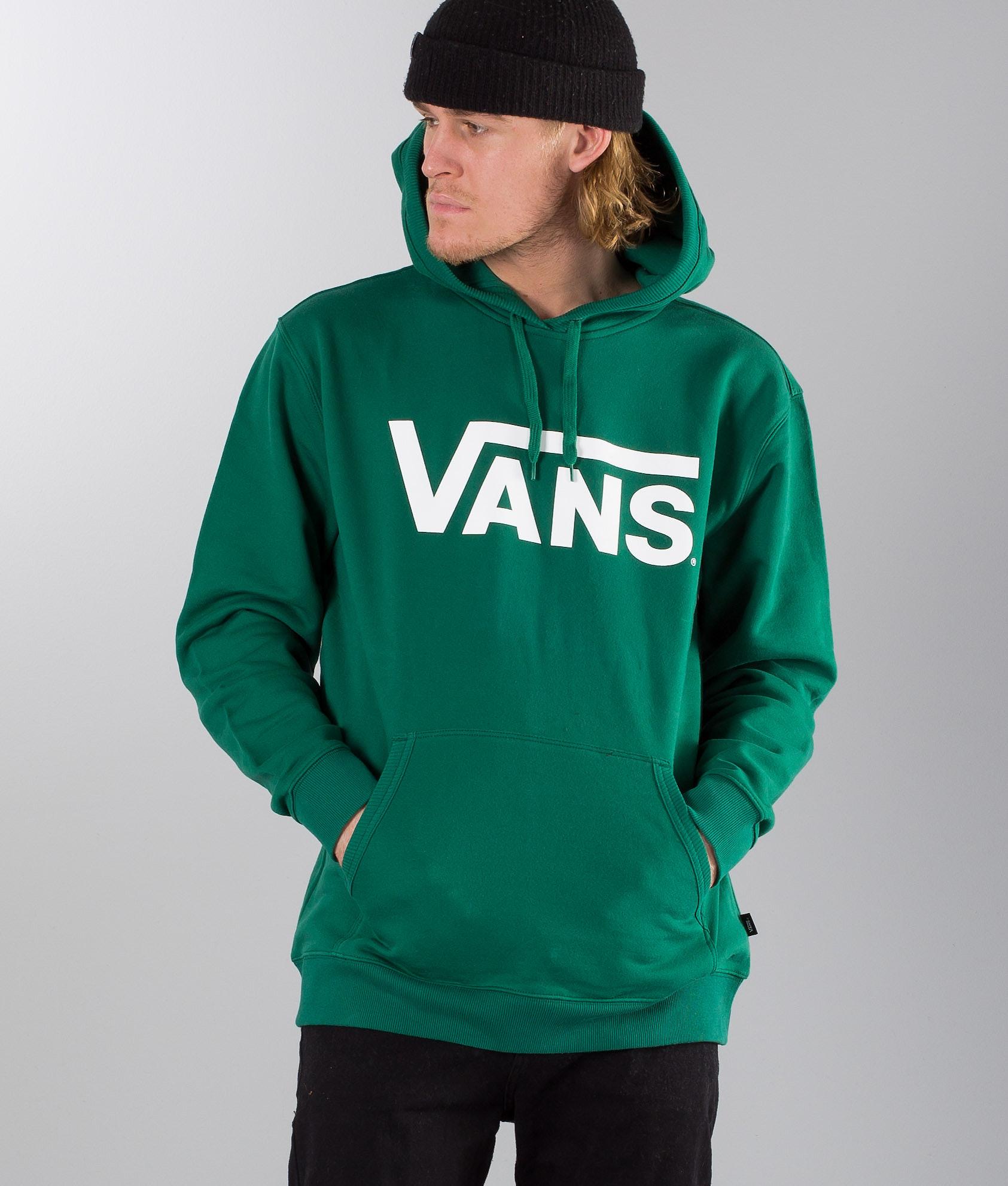 a5d4de45eb Vans Classic Pullover Hoodie Evergreen
