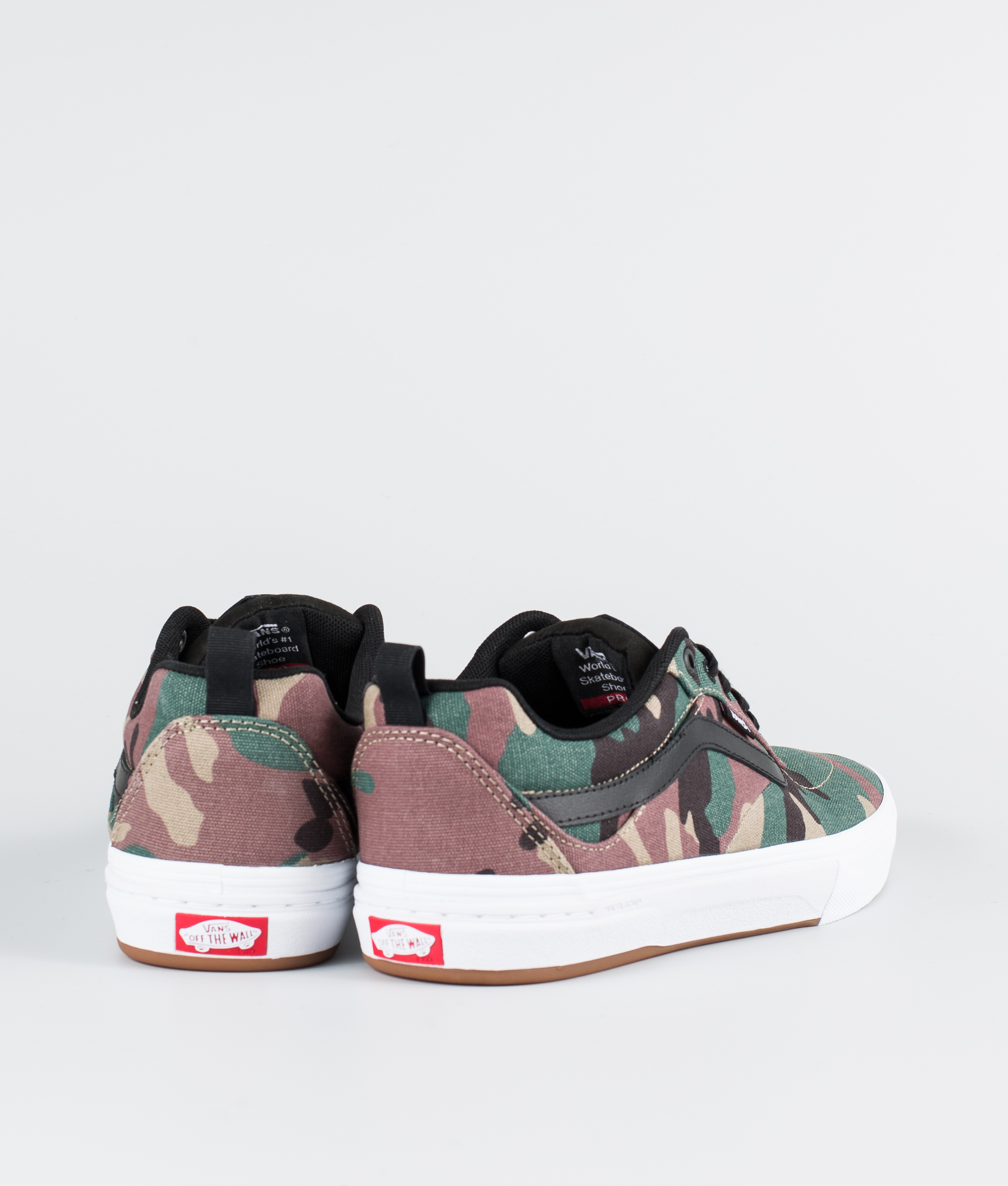 Vans Walker Shoes Kyle Blackwhite camo Pro 44wPx