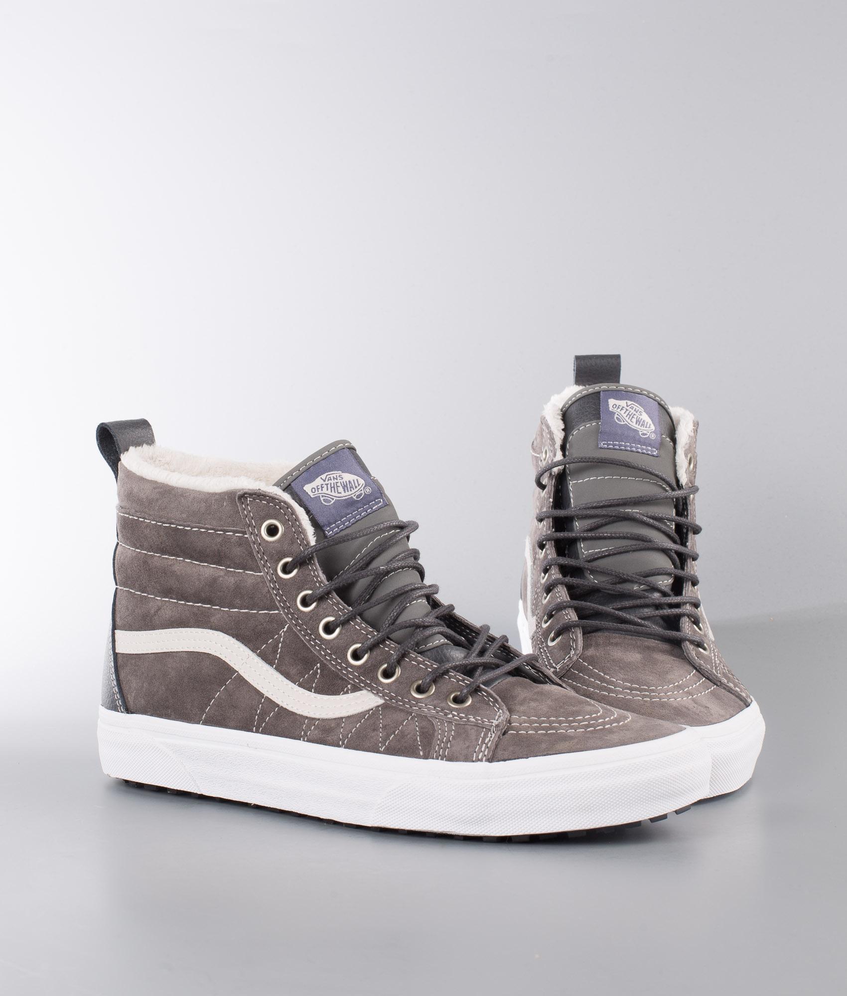 Vans Sk8-Hi Mte Shoes (Mte) Pewter/Asphalt