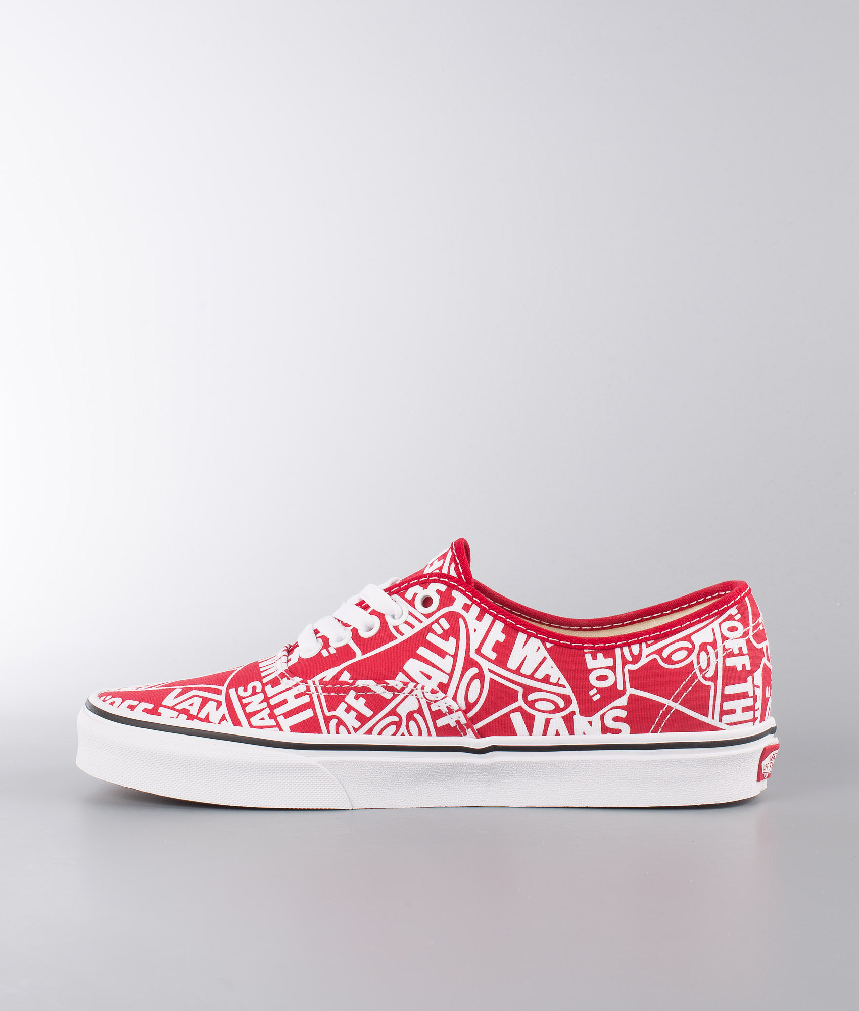 d6e17a79f6 Vans Authentic Shoes (Otw Repeat) Red True White - Ridestore.com