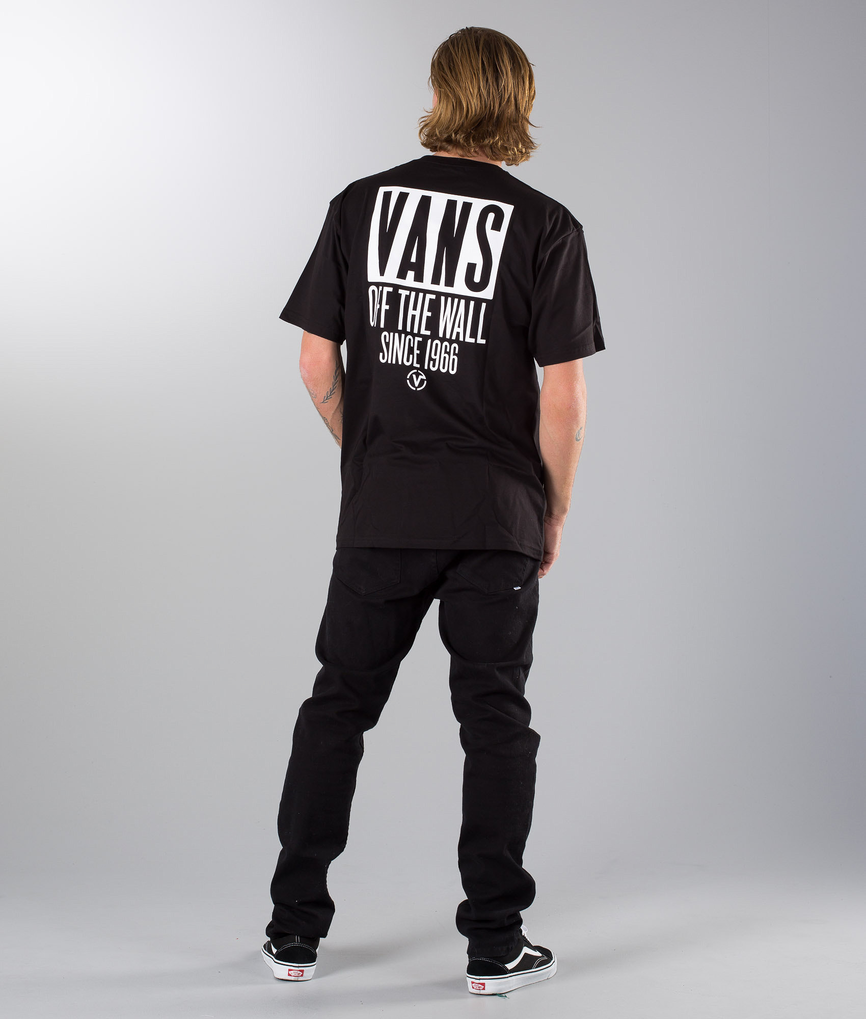 c1164338fa Vans Type Stacker T-shirt Black - Ridestore.com