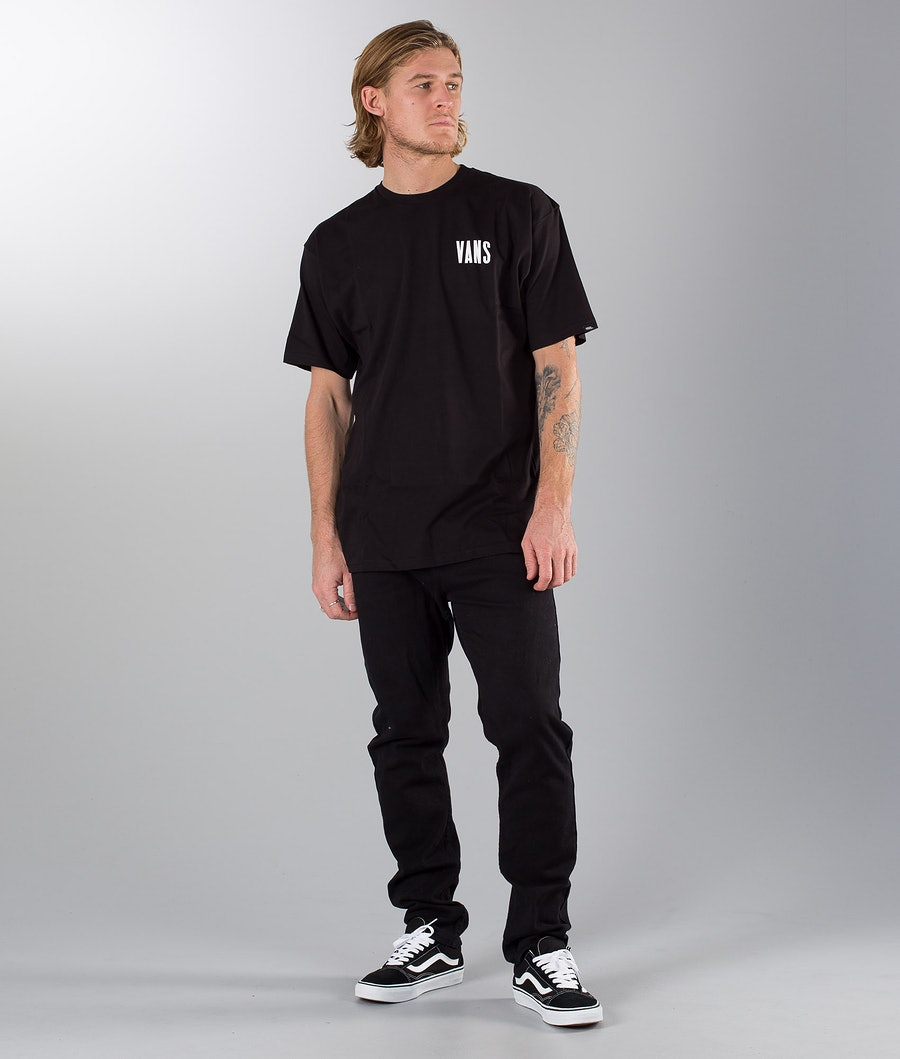 Vans Type Stacker T-shirt Black