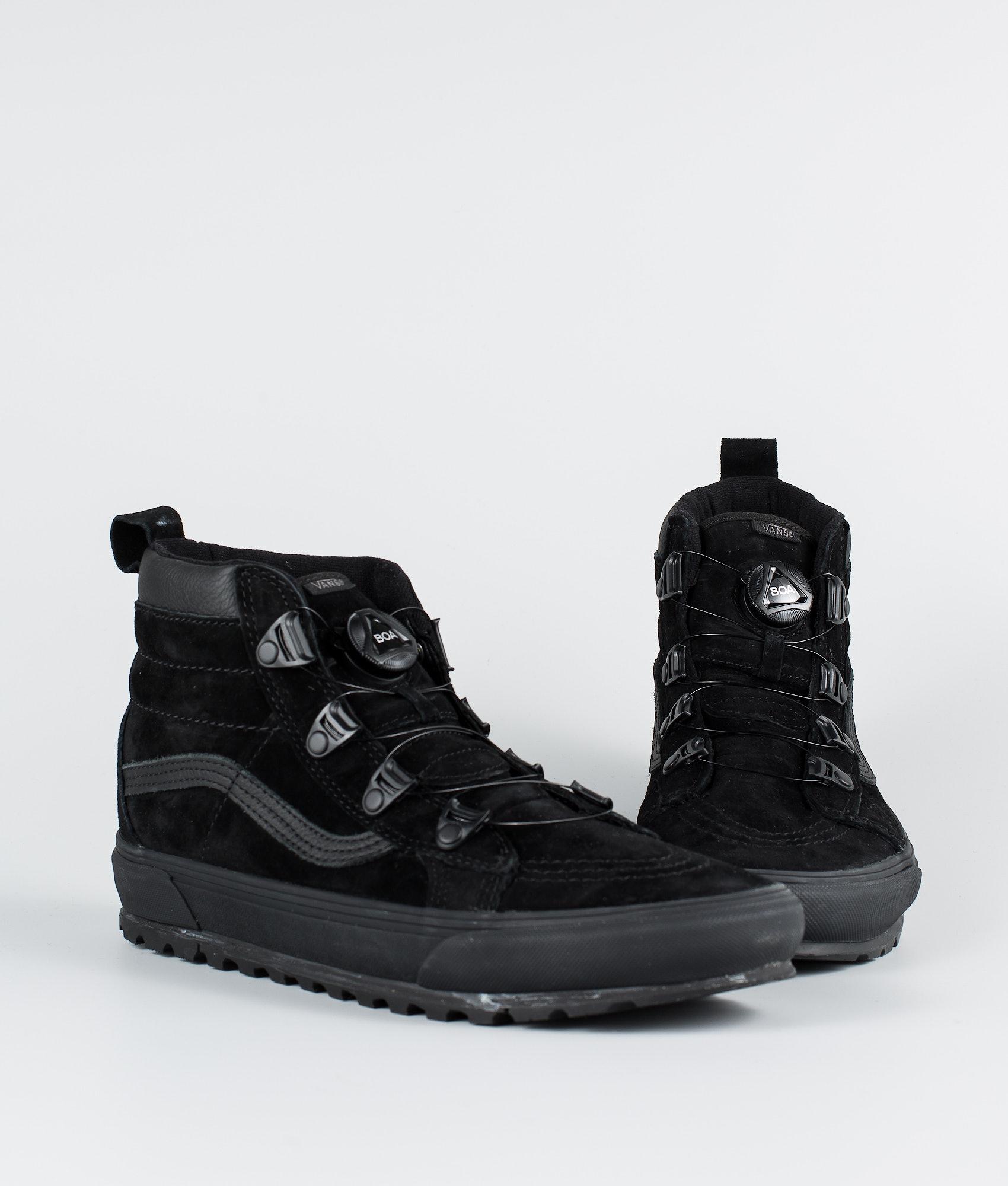 00f263ed81 Vans Sk8-Hi Mte Boa Shoes (Mte) Black - Ridestore.com