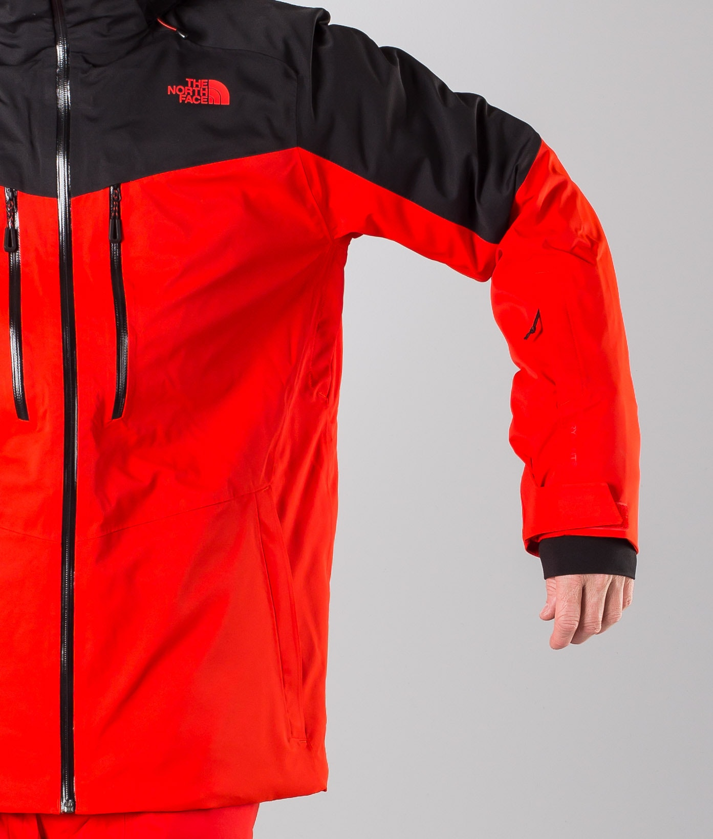 The North Face Chakal Snowboard Jacket Red Black Ridestore Com