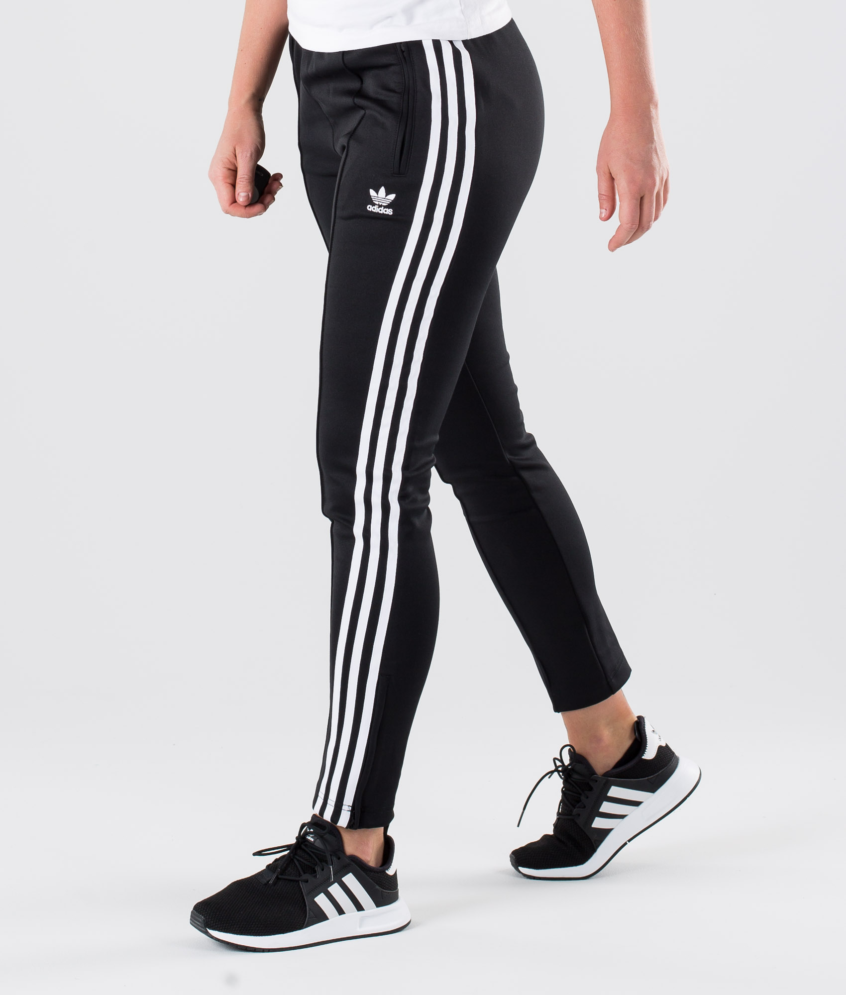 adidas pantaloni all black