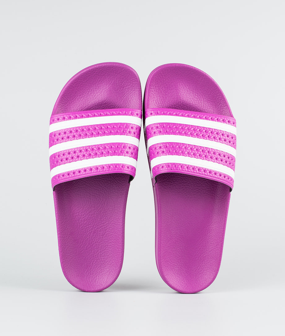 Adidas Originals Adilette  Shoes Vivid Pink/Vivid Pink/Ftwr White