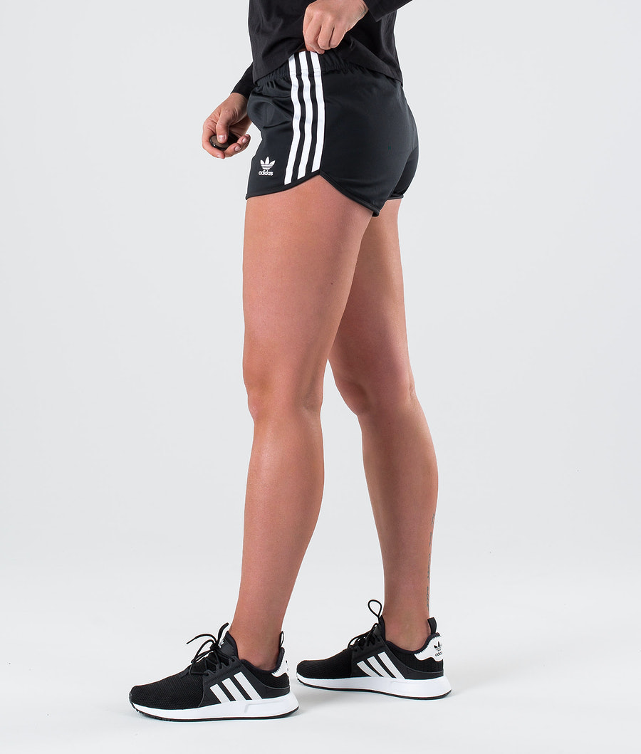Adidas Originals 3 Stripes  Short Black
