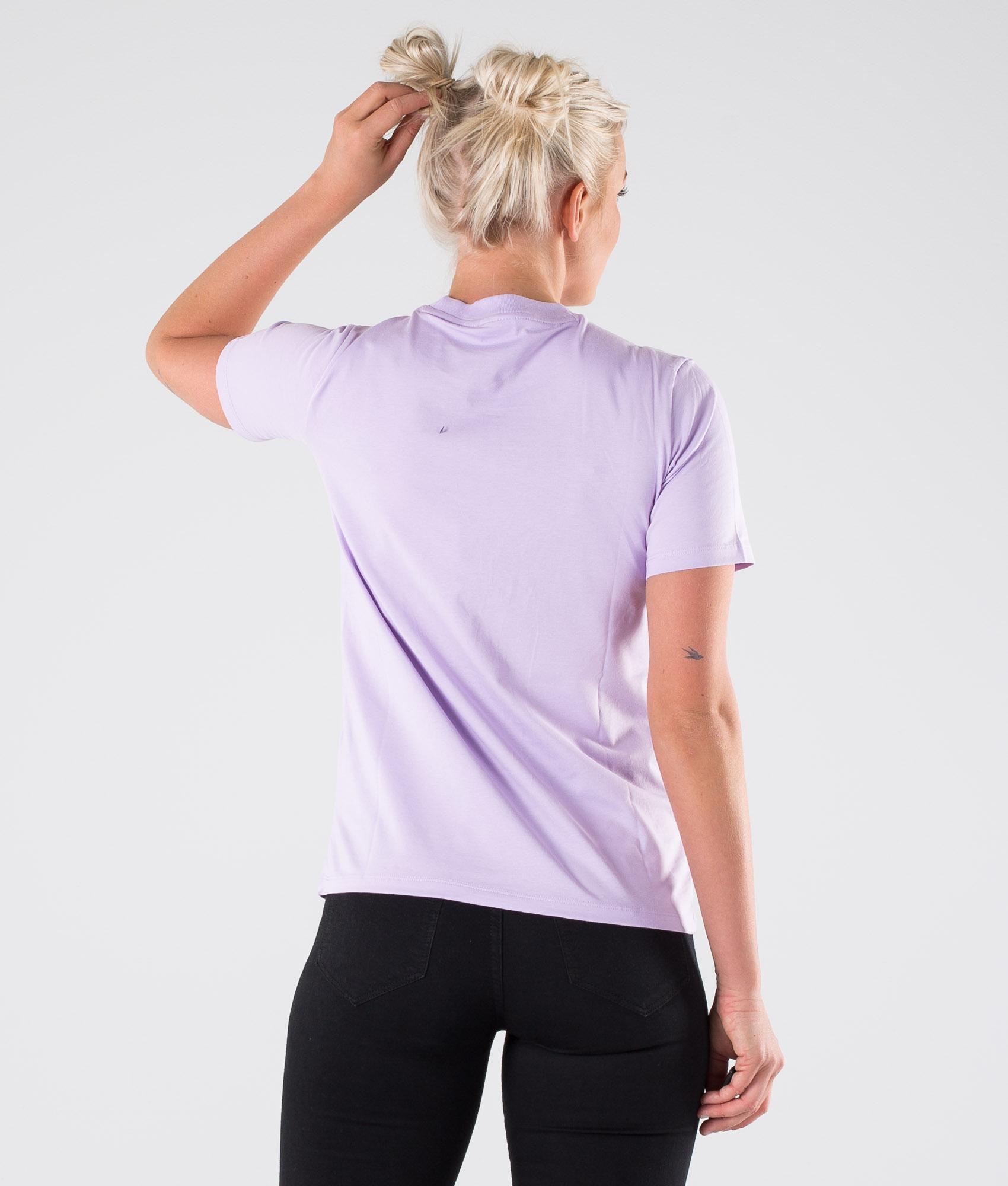Adidas Originals Trefoil T shirt Purple Glow