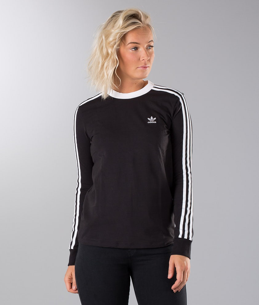 Adidas Originals 3-Stripes Longsleeve Black