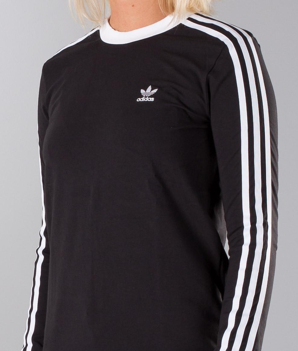 Adidas Originals 3-Stripes Longsleeve Black