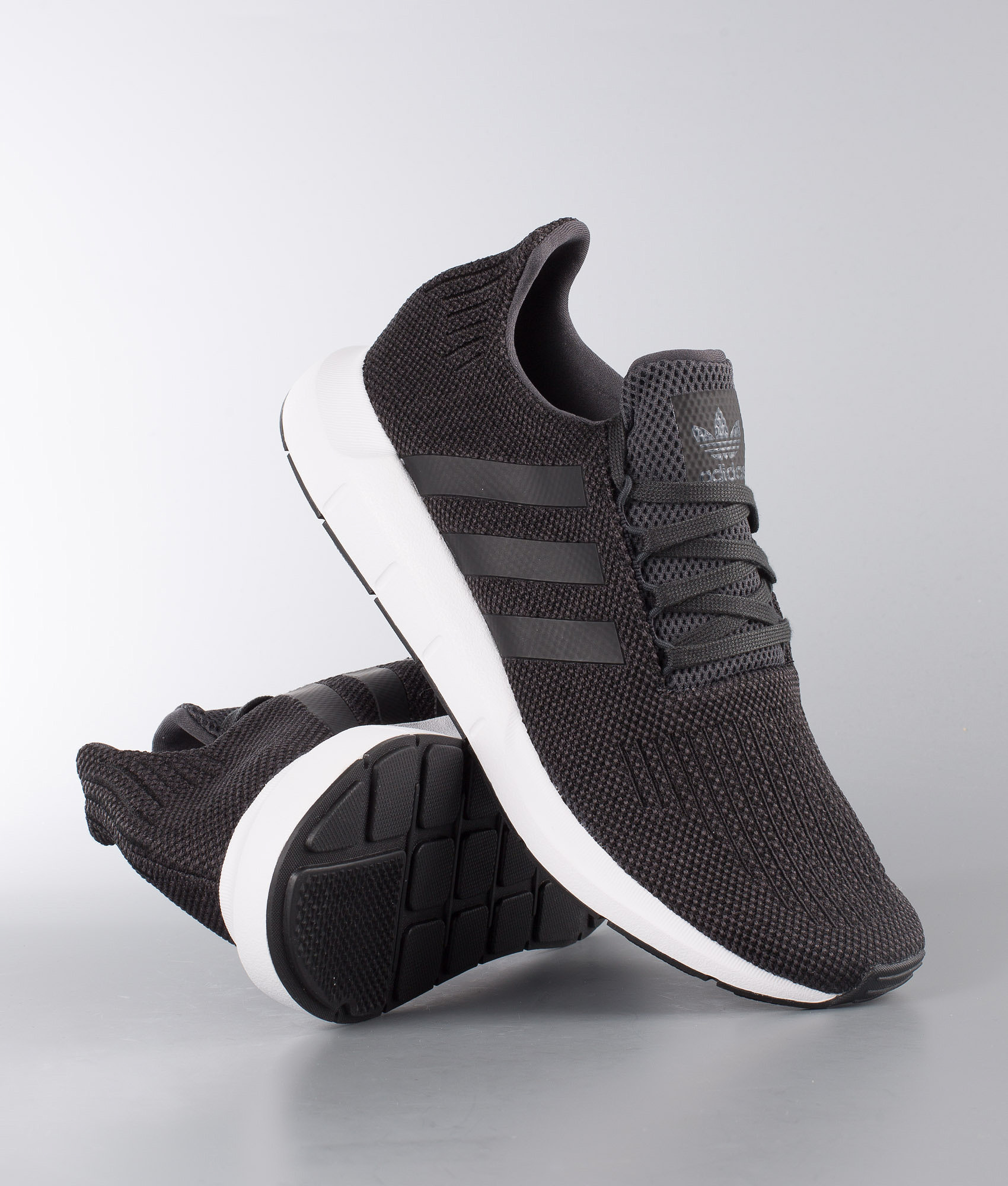 e26c67634cfd2 Adidas Originals Swift Run Shoes Carbon Core Black Medium Grey ...