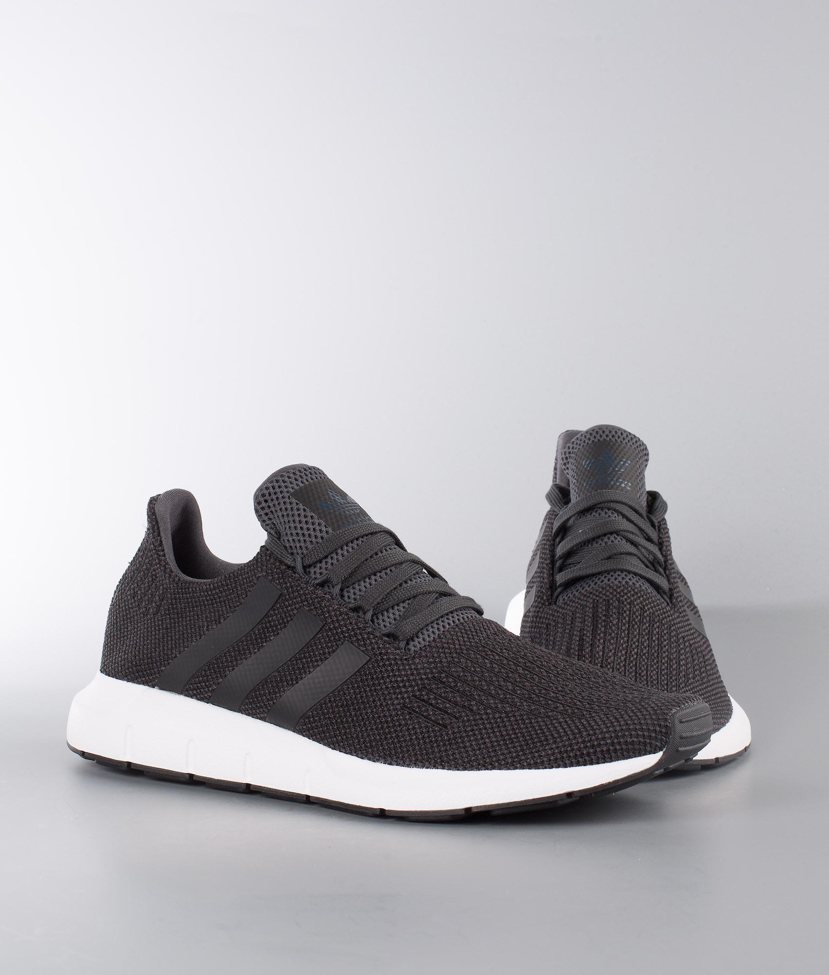f397967f239f8 Adidas Originals Swift Run Shoes Carbon Core Black Medium Grey ...
