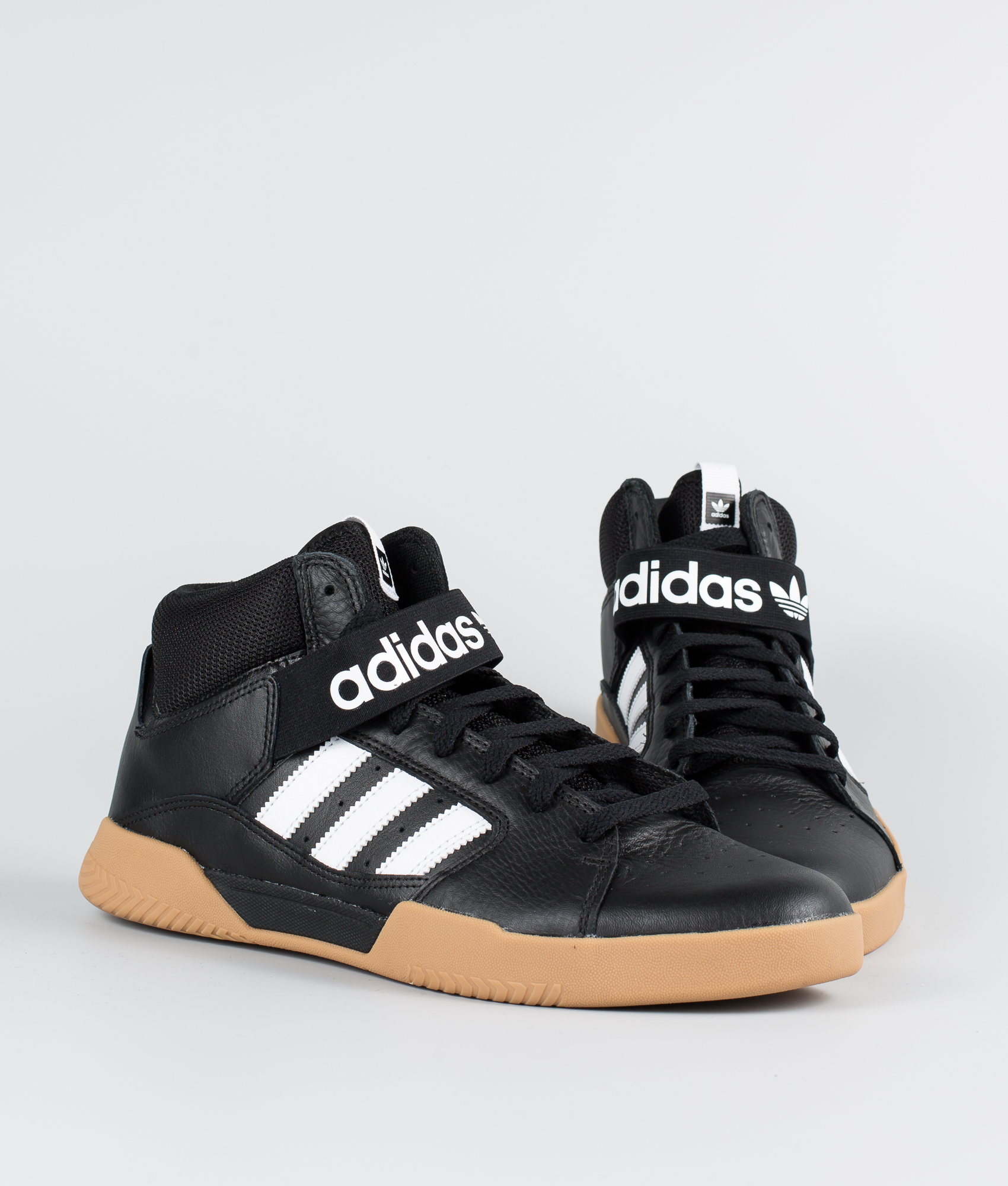 Adidas Skateboarding Vrx Mid Sko Core BlackFtwr WhiteGum4