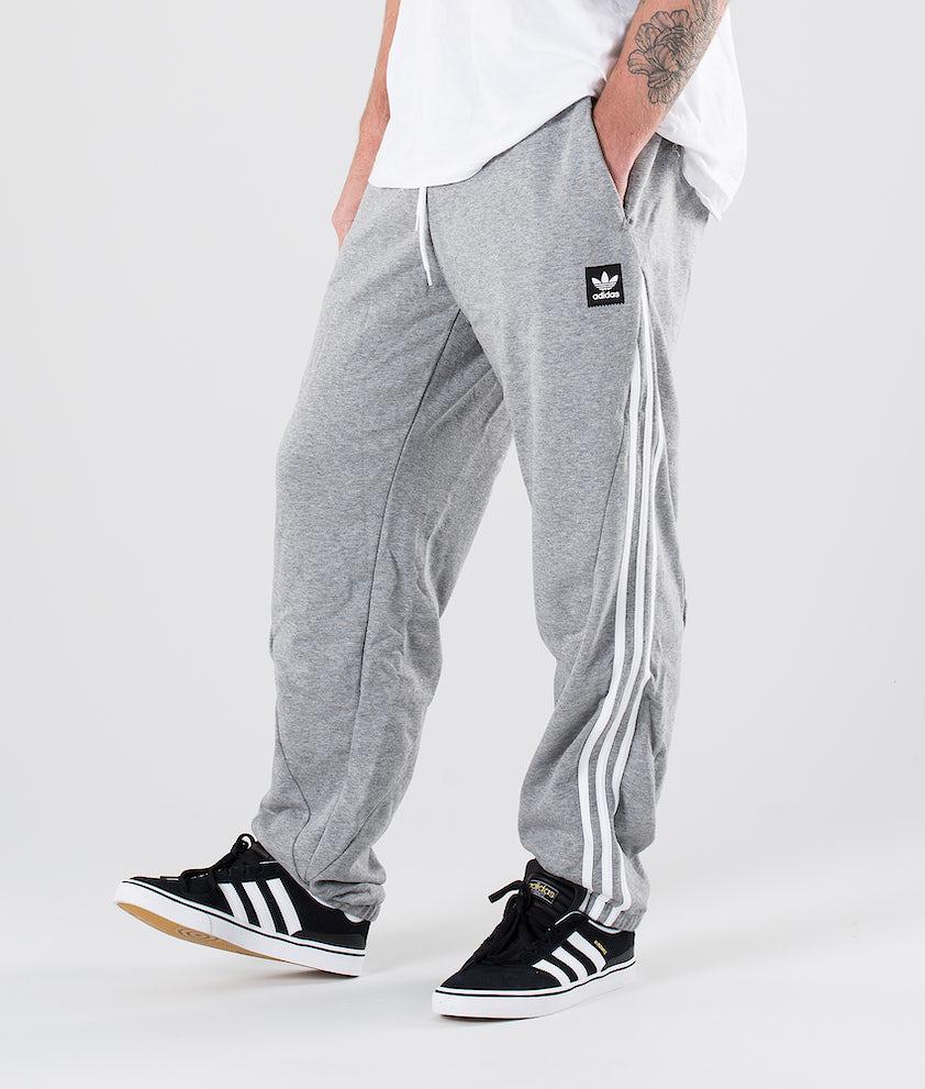 Adidas Skateboarding Insley Sp Hosen Medium Grey Heather/White