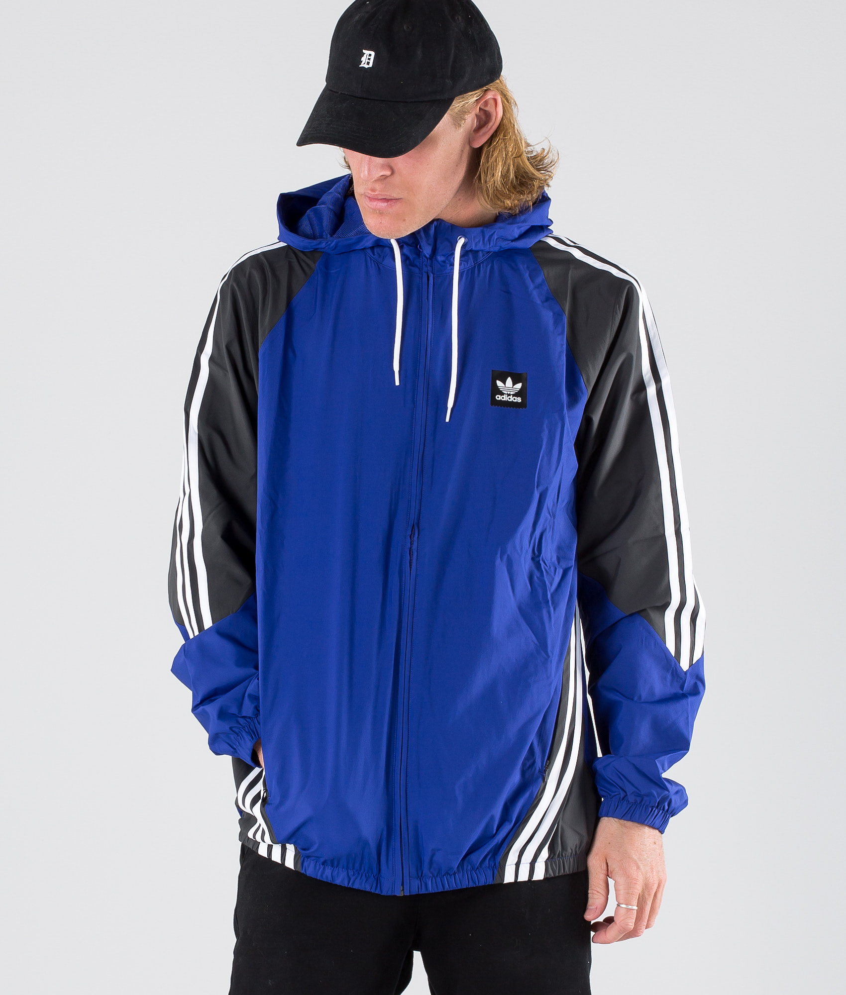 7d4383a1973d Adidas Skateboarding Insley Jacket Active Blue Dgh Solid Grey White ...