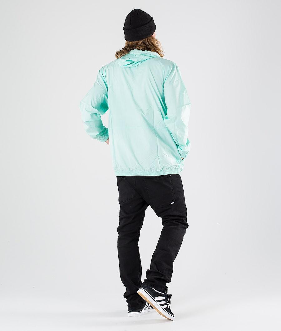 Adidas Skateboarding Hip Packable Jakke Clear Mint/Black