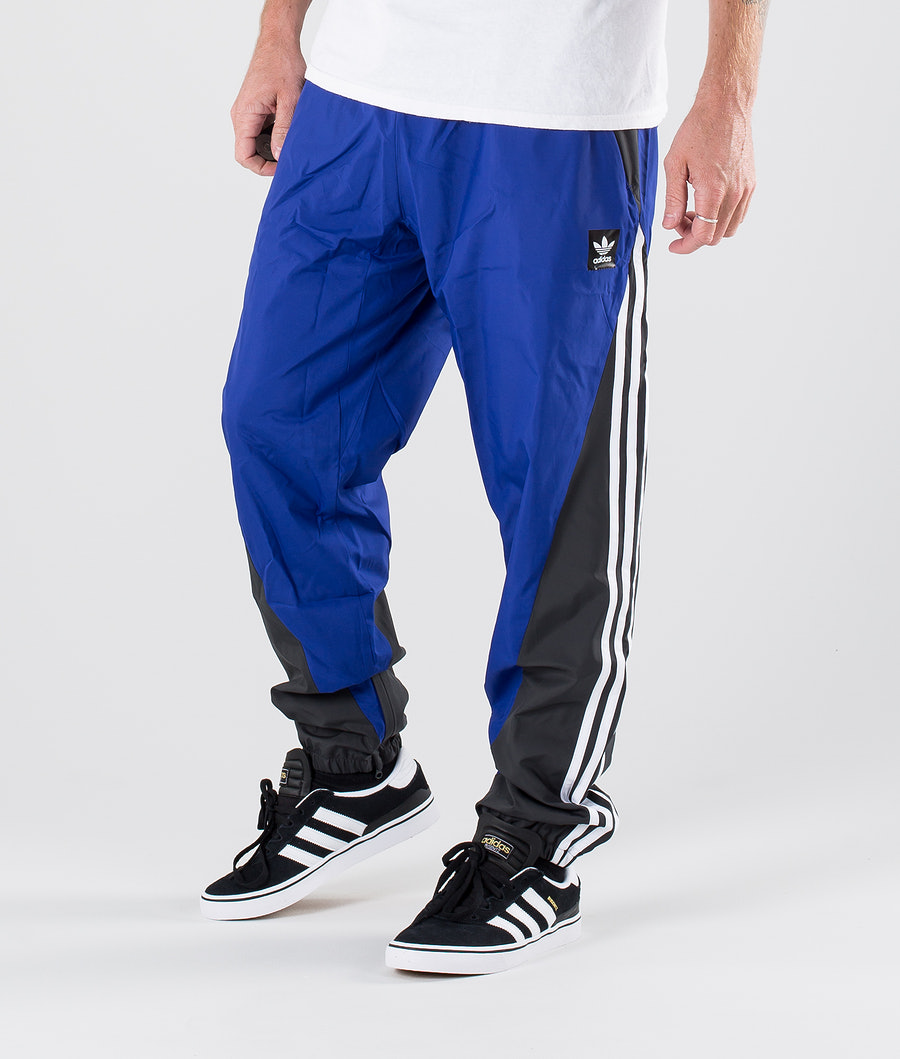 Adidas Skateboarding Insley Tp Pants Active Blue/Dgh Solid Grey/White