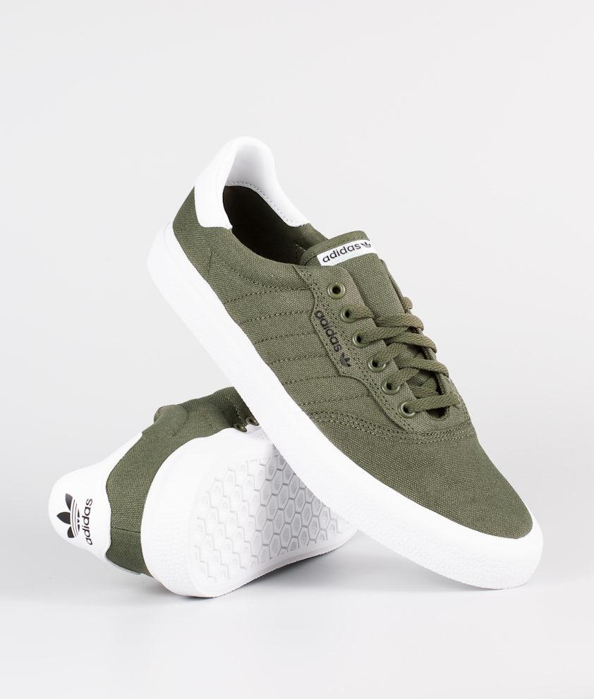 Adidas Skateboarding 3Mc Sko Raw Khaki/Raw Khaki/Ftwr White