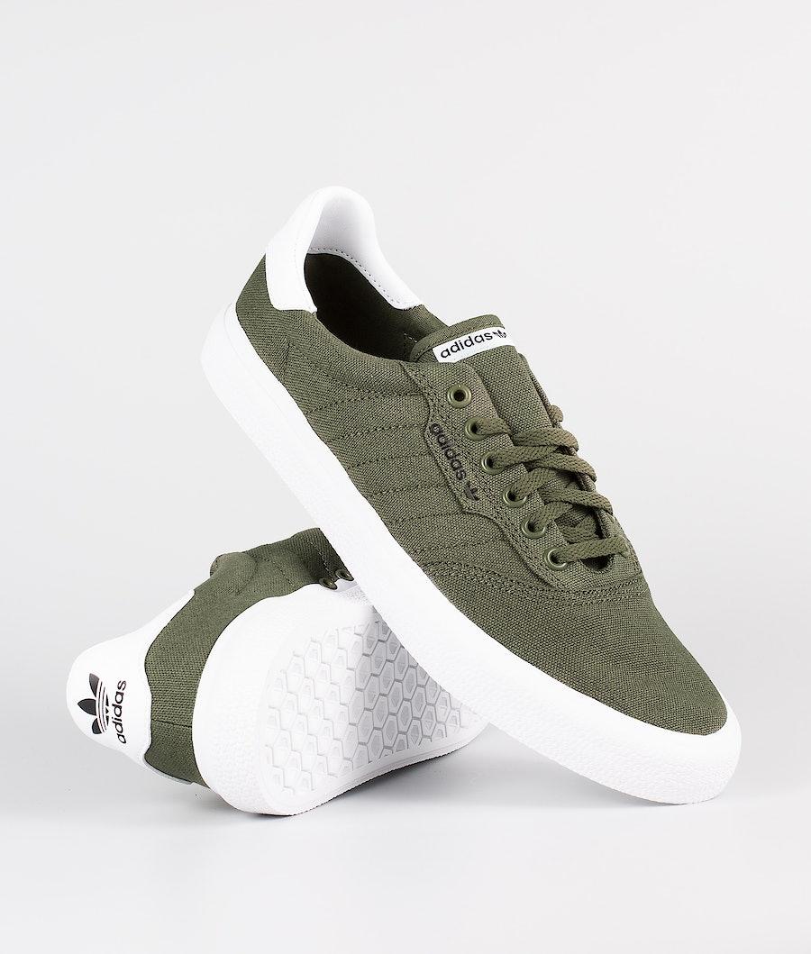 Adidas Skateboarding 3Mc Skor Raw Khaki/Raw Khaki/Ftwr White