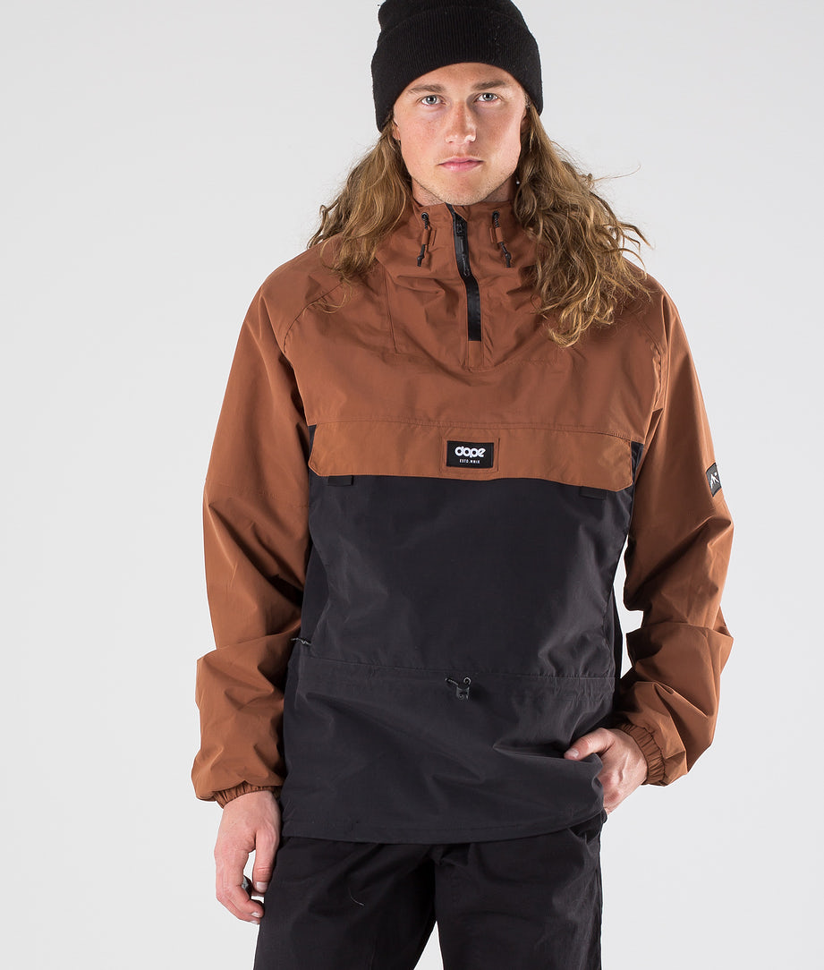 Dope Hiker Outdoor Jacket Adobe/Black