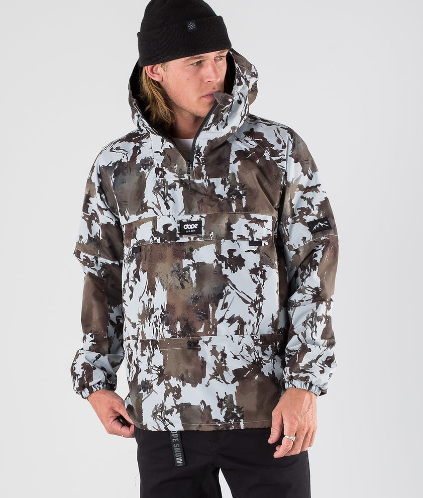 Dope Hiker 19 Outdoor Jacka Dirt Camo