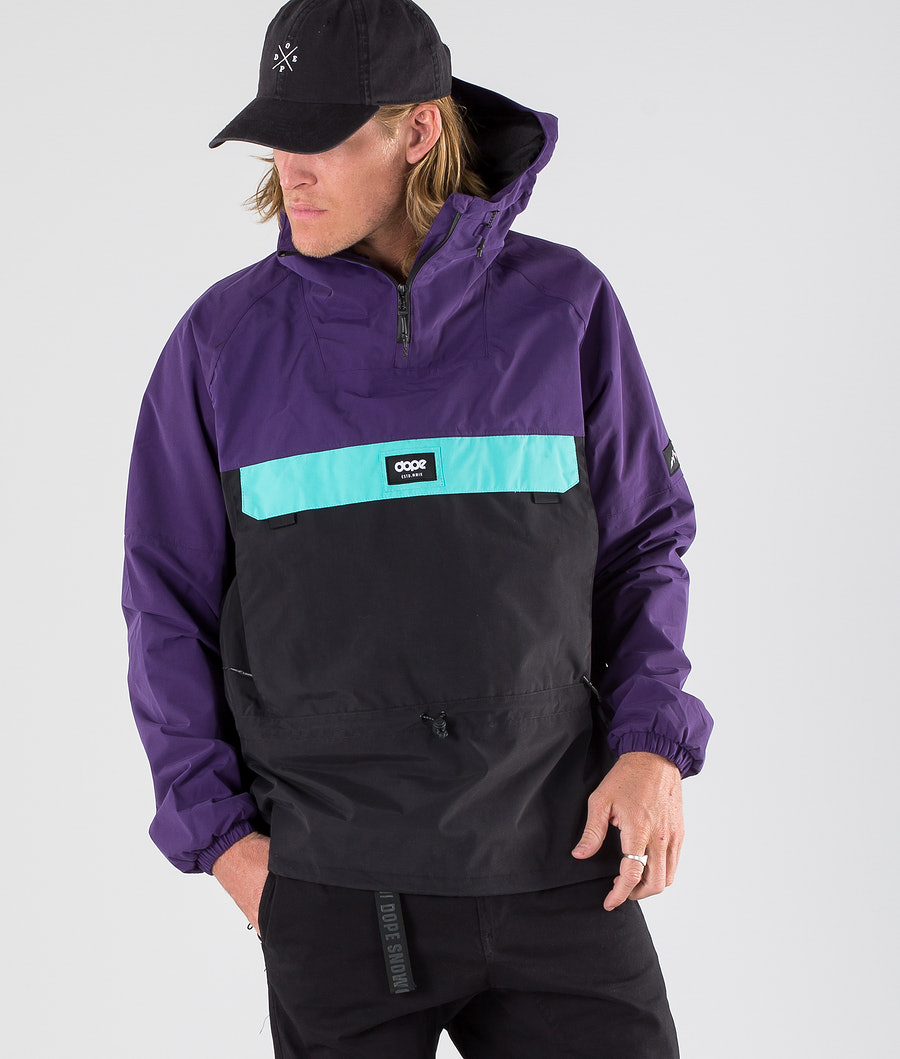 Dope Hiker Outdoor Jacket Purple/Black/Azure
