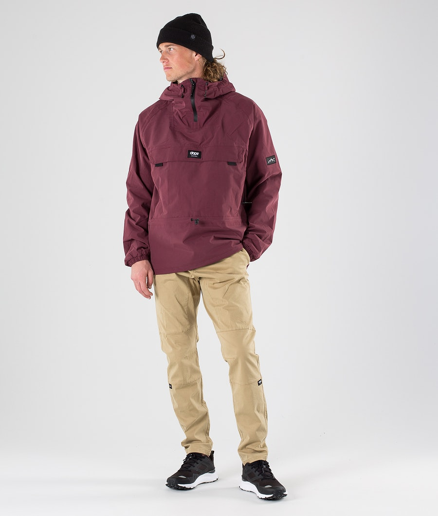 Dope Hiker 19 Outdoor Jacka Burgundy