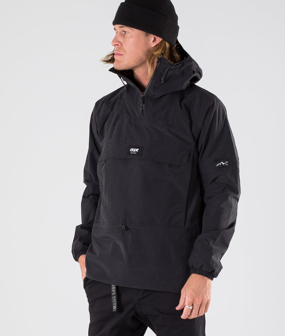 Dope Hiker Outdoorjacke Black