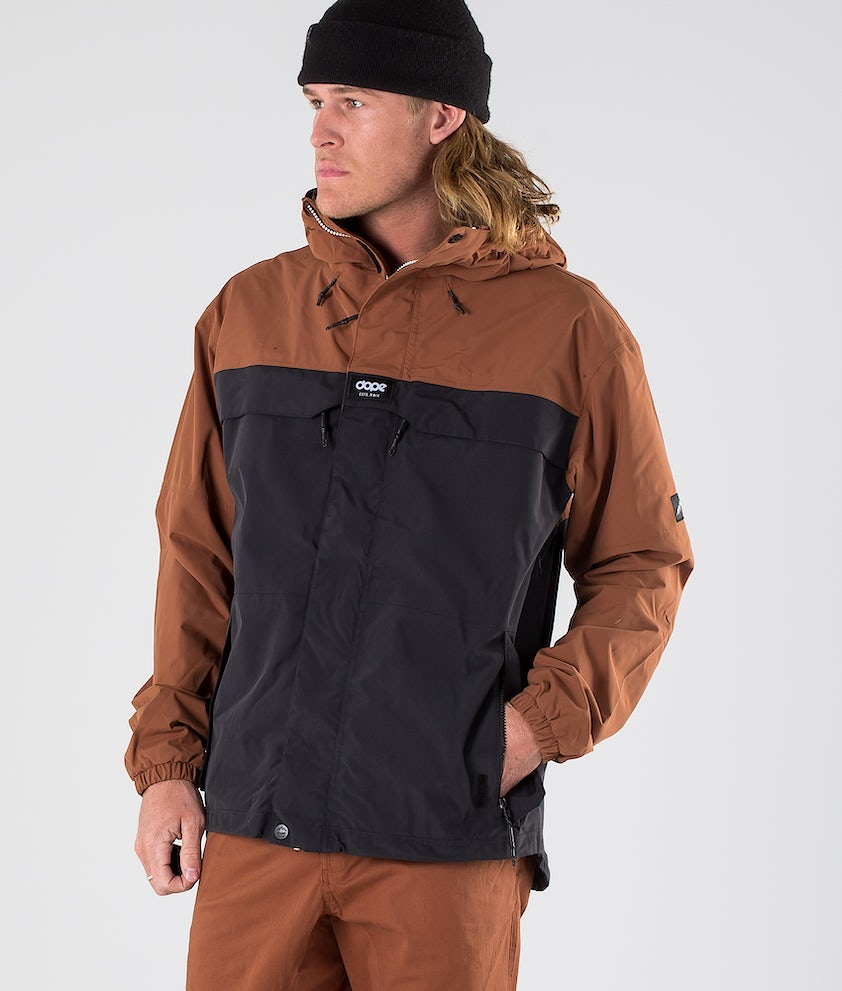 Dope Trekker 19 Outdoor Jacka Adobe/Black
