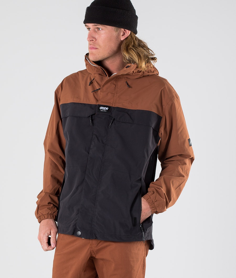 Dope Trekker 19 Outdoor Jacket Adobe/Black