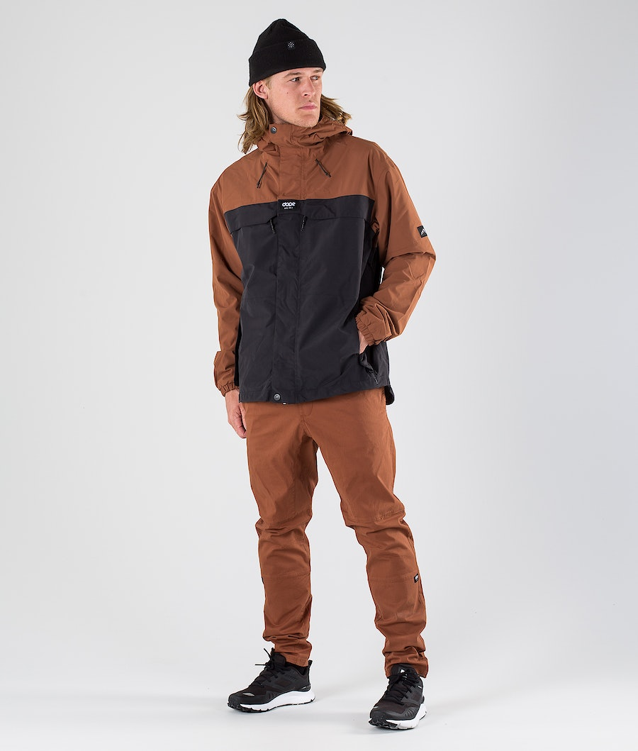 Dope Trekker 19 Outdoorjacke Adobe/Black