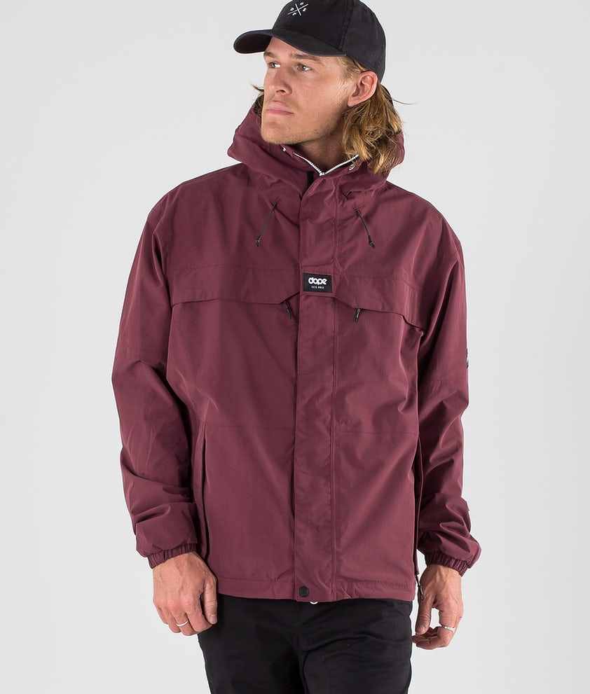 Dope Trekker 19 Outdoor Jas Burgundy