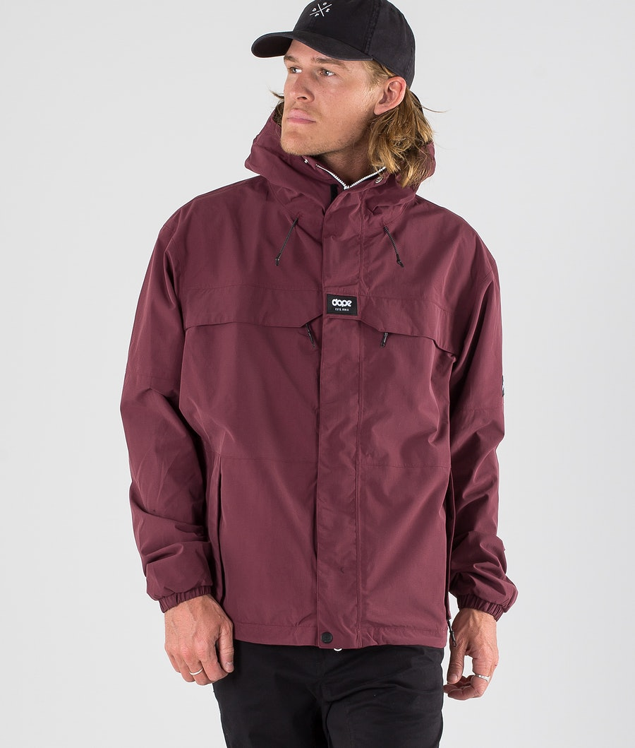 Dope Trekker 19 Outdoor Jacket Burgundy