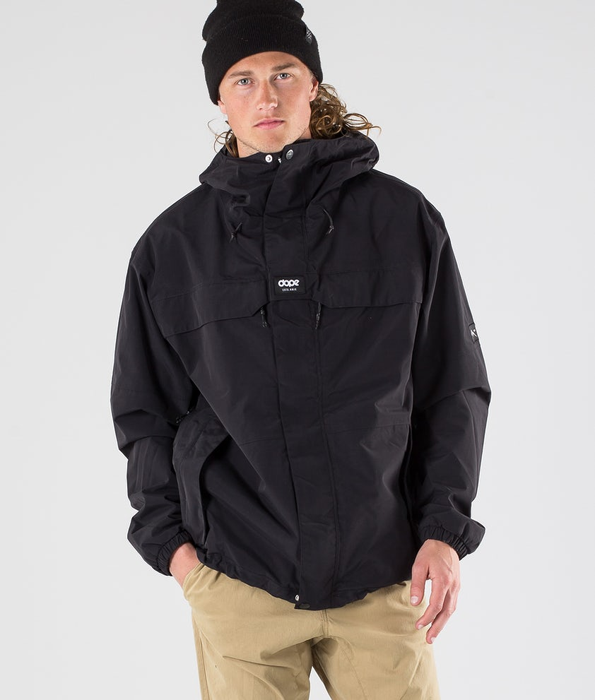 Dope Trekker 19 Outdoorjacke Black