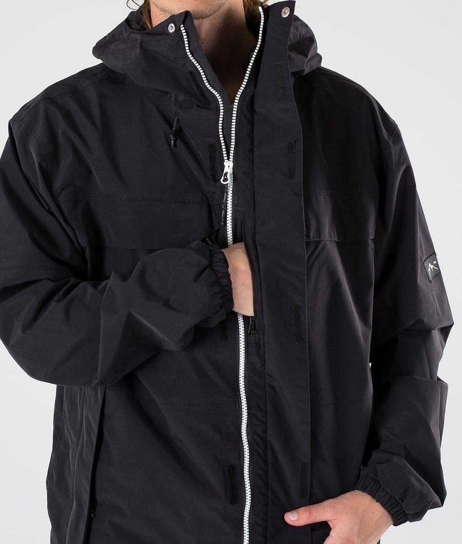 Dope Trekker 19 Outdoor Jacka Black