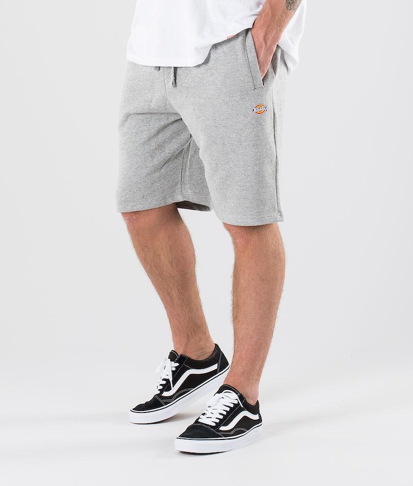 Dickies Glen Cove Jersey Short Shorts Grey Melange