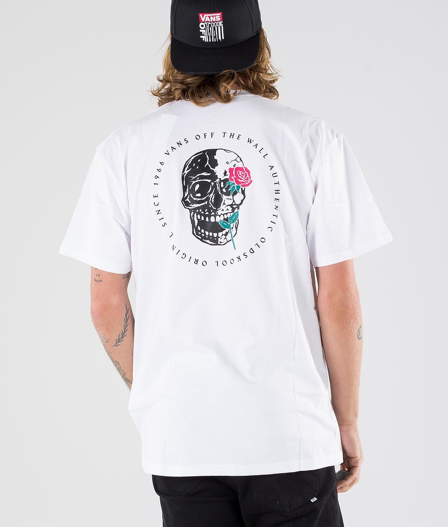 Vans Coming Up Roses Ss T-shirt White