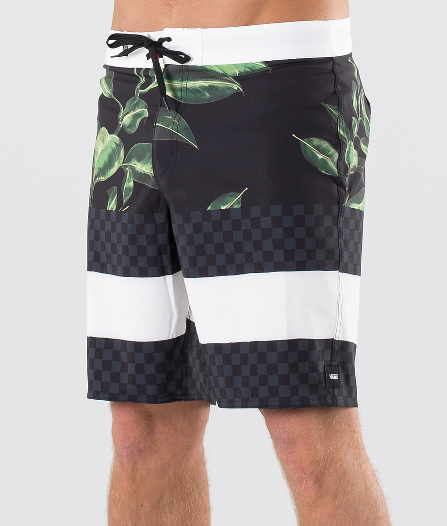 Vans Era Boardshort 19 Uimashortsit Rubber Co. Floral/Black