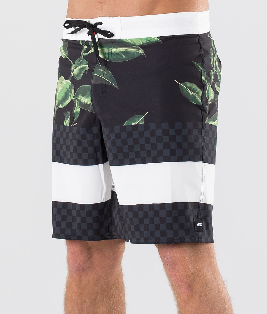 Vans Era Boardshort 19 Badshorts Rubber Co. Floral/Black