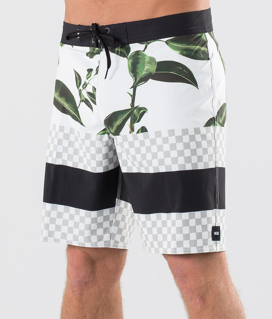 Vans Era Boardshort 19 Badshorts Rubber Co. Floral/White